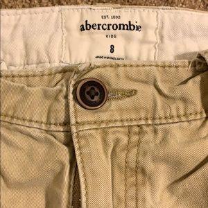 abercrombie kids Bottoms - Khaki Abercrombie kids shorts